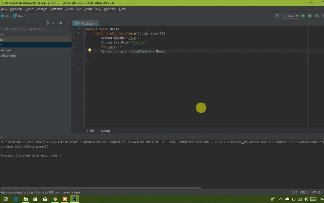 8. Integers and Concatenation ||The complete Android Development Course Build 21 Apps in HINDI/URDU