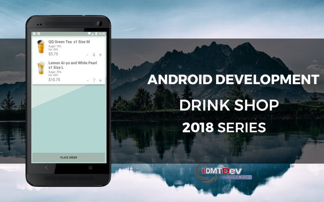 Android Development Tutorial – Drink Shop App part 11 Load Cart Items