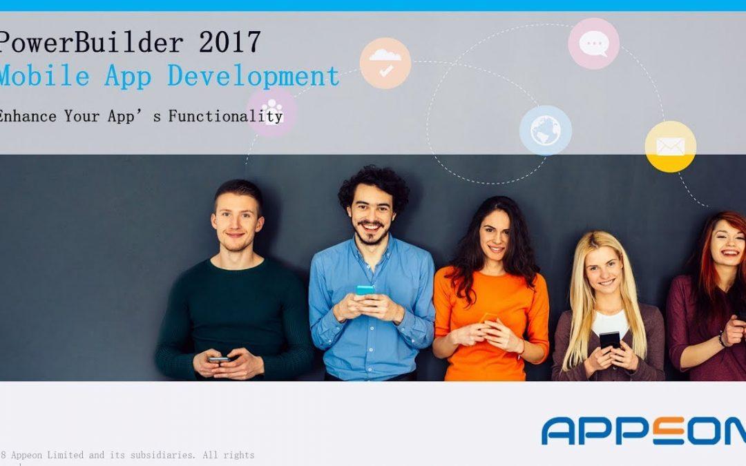 PB 2017 Mobile App Development