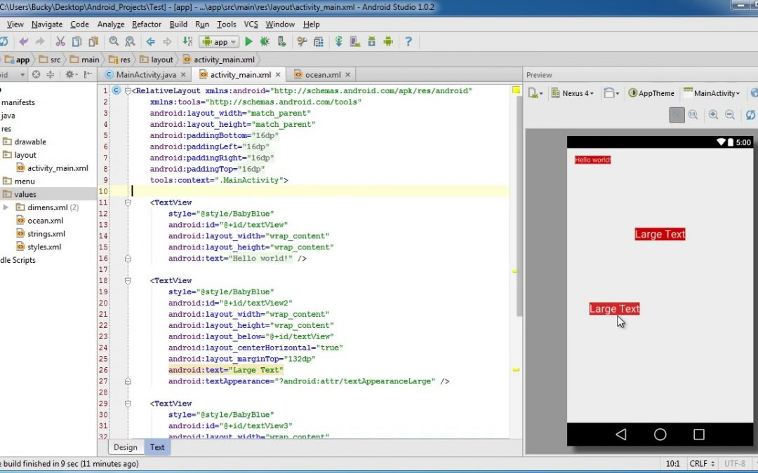 Android App Development for Beginners   63   Styles