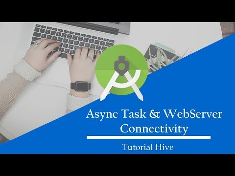7- AsyncTask and WebServer Connectivity Part 2| Android App Development (Urdu/Hindi)