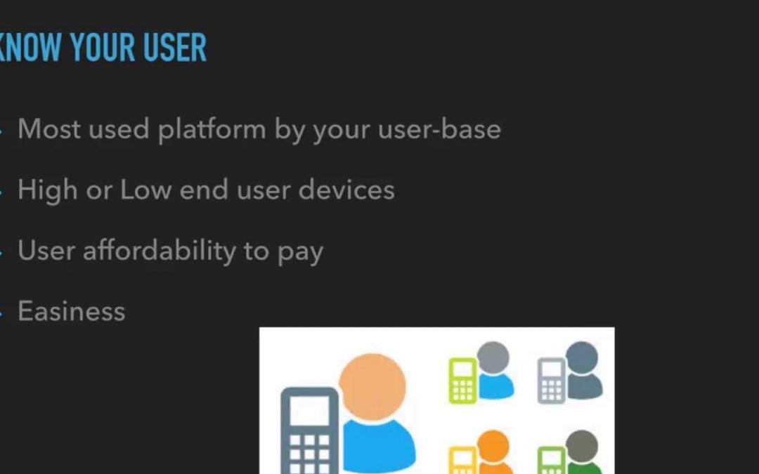 Mobile application development – Choice of Technology