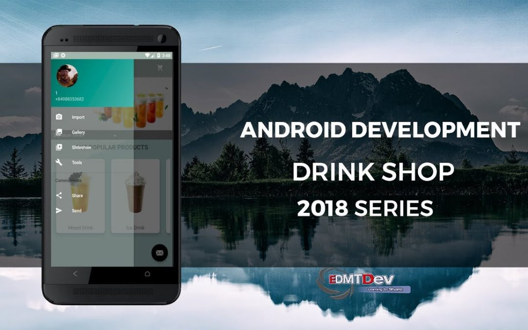 Android Development Tutorial – Drink Shop App part 12 Write Backend to upload file