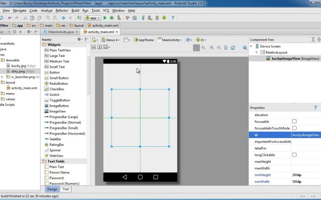 Android App Development for Beginners   58   Image Effects