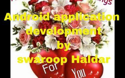 Android application development by swaroop Haldar