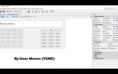 Java Calculator App | Development Tutorial | Swing | GUI | Umer