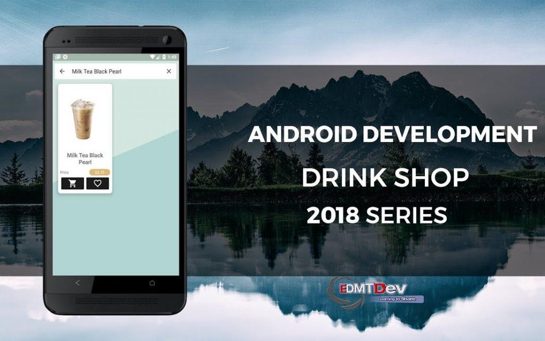Android Development Tutorial – Drink Shop App part 19 Search Activity