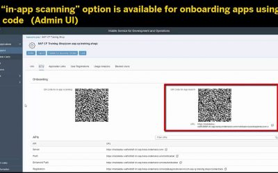 What's New in SAP Cloud Platform Mobile Service for Development and Operations 1805
