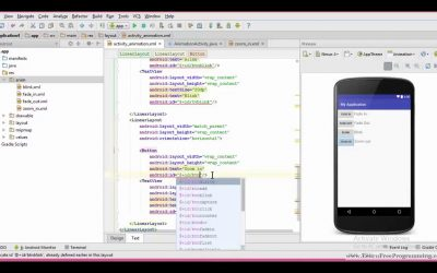50. Zoom in Animation  in android in Urdu Hindi Android App Development