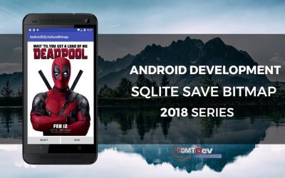 Android Development Tutorial – Save Bitmap to SQLite