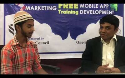 Testimonials from one of the Participants of Android Mobile App Development Free Classes,
